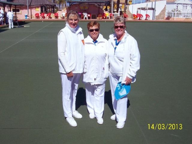 Ladies trips winners Pauline Woodfine Sue Bounds & Babs Caiger.JPG