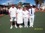Fours winners Joe & Diane Ridley, Stan  Routledge & Janet Gatward.JPG